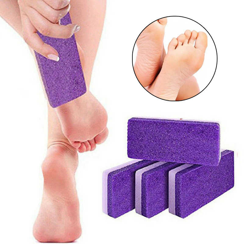 1PC pied pierre ponce bloc éponge callosités dissolvant exfolier peau dure professionnel pédicure pieds soins des mains gommage manucure outils