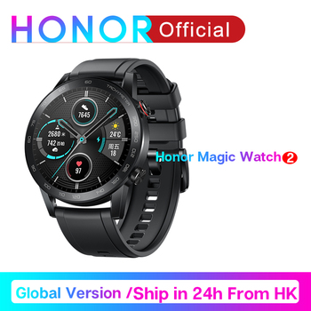 Honor Magic Watch 2 46mm Smart watch Bluetooth GPS Music Play magicwatch 2 Smartwatch Phone Call Heart Rate For Android iOS