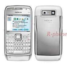 Восстановленный Nokia E71 мобильный телефон 3g Wifi gps разблокированный смартфон Арабский Русский клавиатура