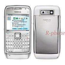 Nokia E71 odnowiony telefon komórkowy Wifi 3G GPS 3MP Smartphone i arabska rosyjska klawiatura odblokowany oryginał