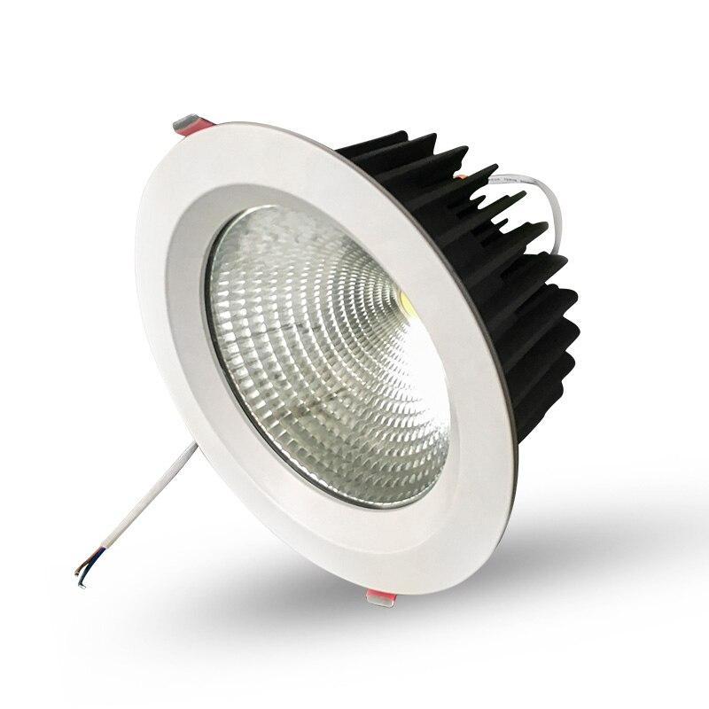 diodo emissor de luz downlight embutido spotlight 04