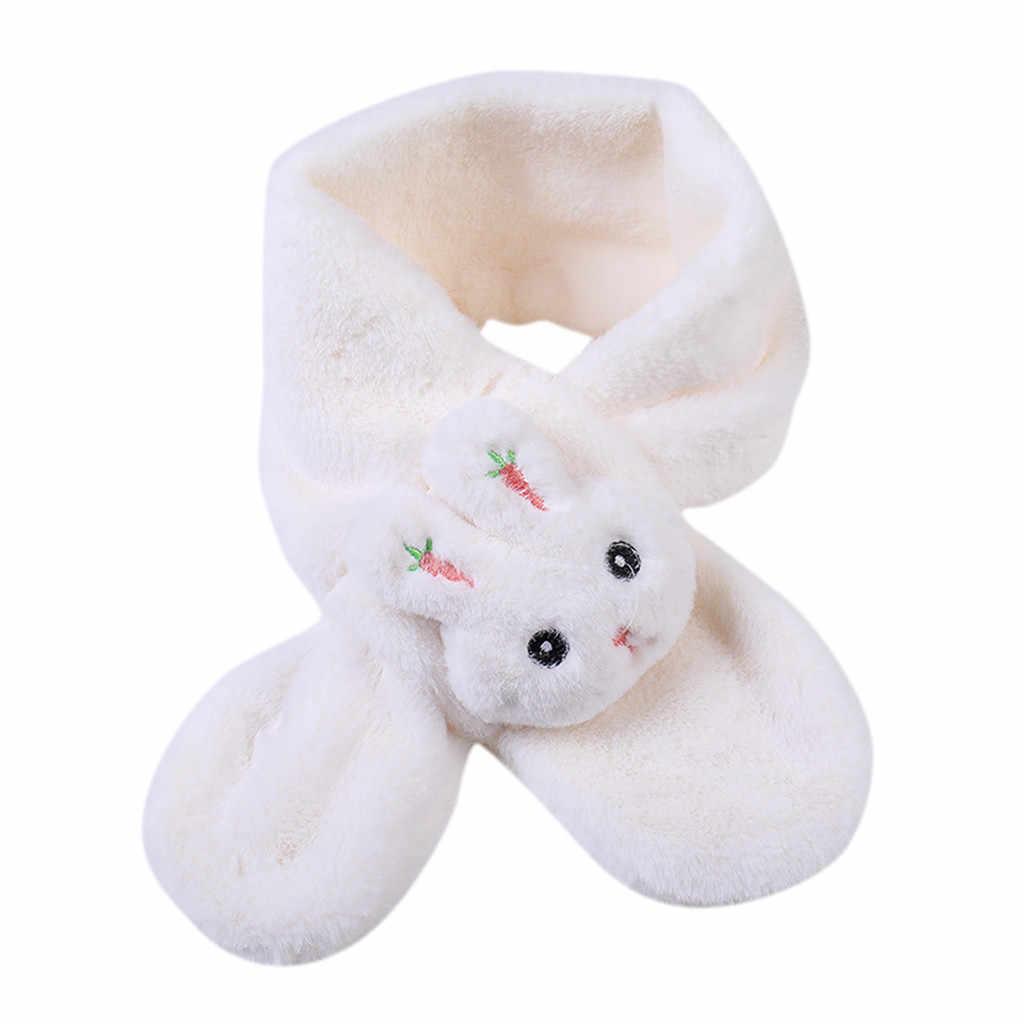 الفتيان والفتيات الاطفال الدفء شالات الأوشحة طوق سماكة الشتاء وشاح هدية للأطفال الملابس