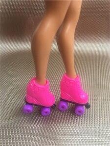Л. О. Л. Сюрприз! Большая модная обувь для фигурного катания на куклы сестры; Белые ботинки; Сандалии; Цвет белый, бежевый, коричневый, черный; ...