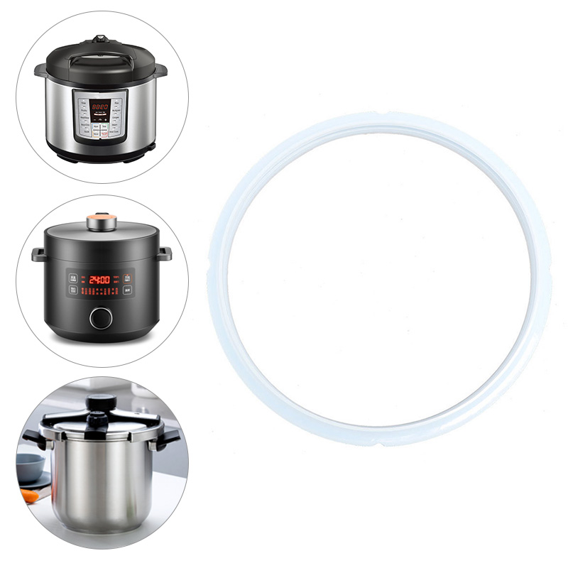 Clear Silicone Gasket Seal Ring Pressure Cooker Replacement Seal Ring 16-24cm