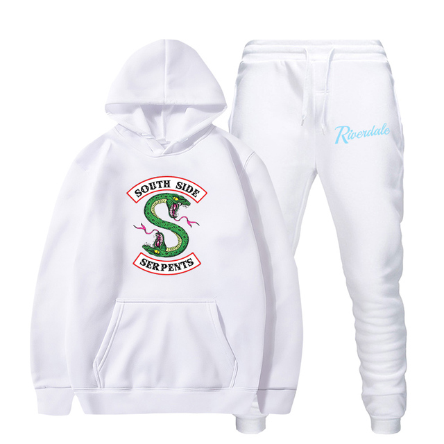 SET RIVERDALE SOUTH SIDE SERPENTS HOODIE + TROUSERS (13 VARIAN)