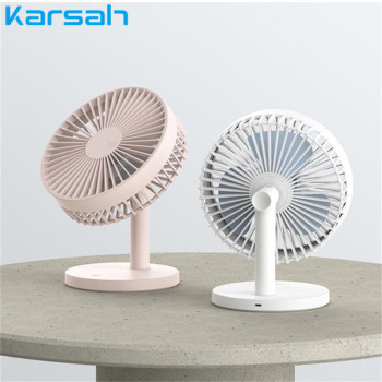 Mini Mute Design Fan Portable Desktop Air Cooler Student Dorm Fan Office Desktop Mini Fan Household Electrical Appliances Appliances