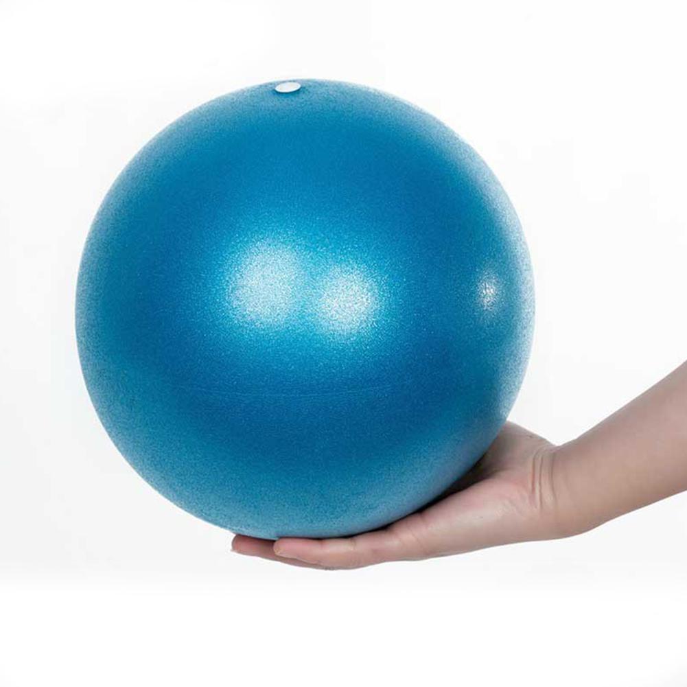 26cm Yoga Ball Women Exercise Gymnastic Fitness Pilates Ball Mini Balance Sports Gym Ball Indoor Training PVC Fitness Ball Kids