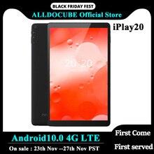 ALLDOCUBE iPlay20 안드로이드 10.0 태블릿 Octa 코어 10 인치 1200*1920 태블릿 PC SC9863A 4 기가 바이트 RAM 64 기가 바이트 rom을 듀얼 카메라 SIM 카드 와이파이