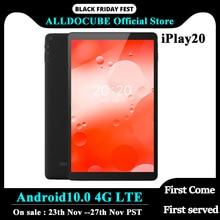 ALLDOCUBE iPlay20 Android 10.0 Tablet Octa çekirdek 10 inç 1200*1920 Tablet PC SC9863A 4GB RAM 64GB ROM çift kamera SIM kart Wifi