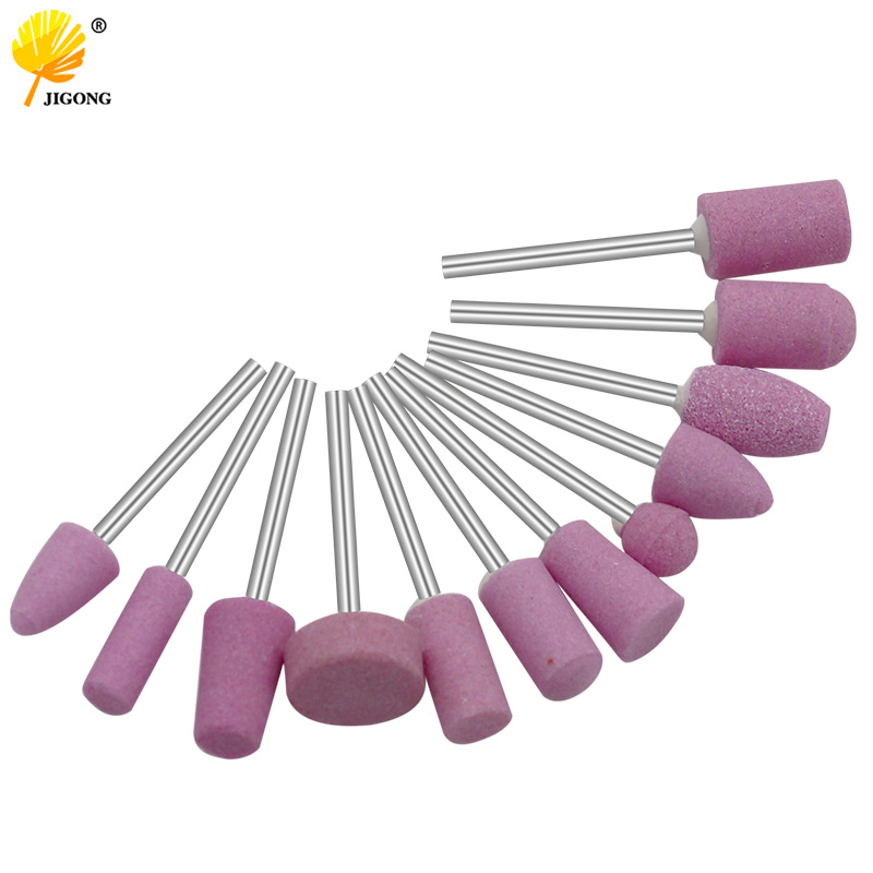 12pcs/set Abrasive Mounted Stone For Rotary Tools Grinding Stone Wheel Head Tools Accessories