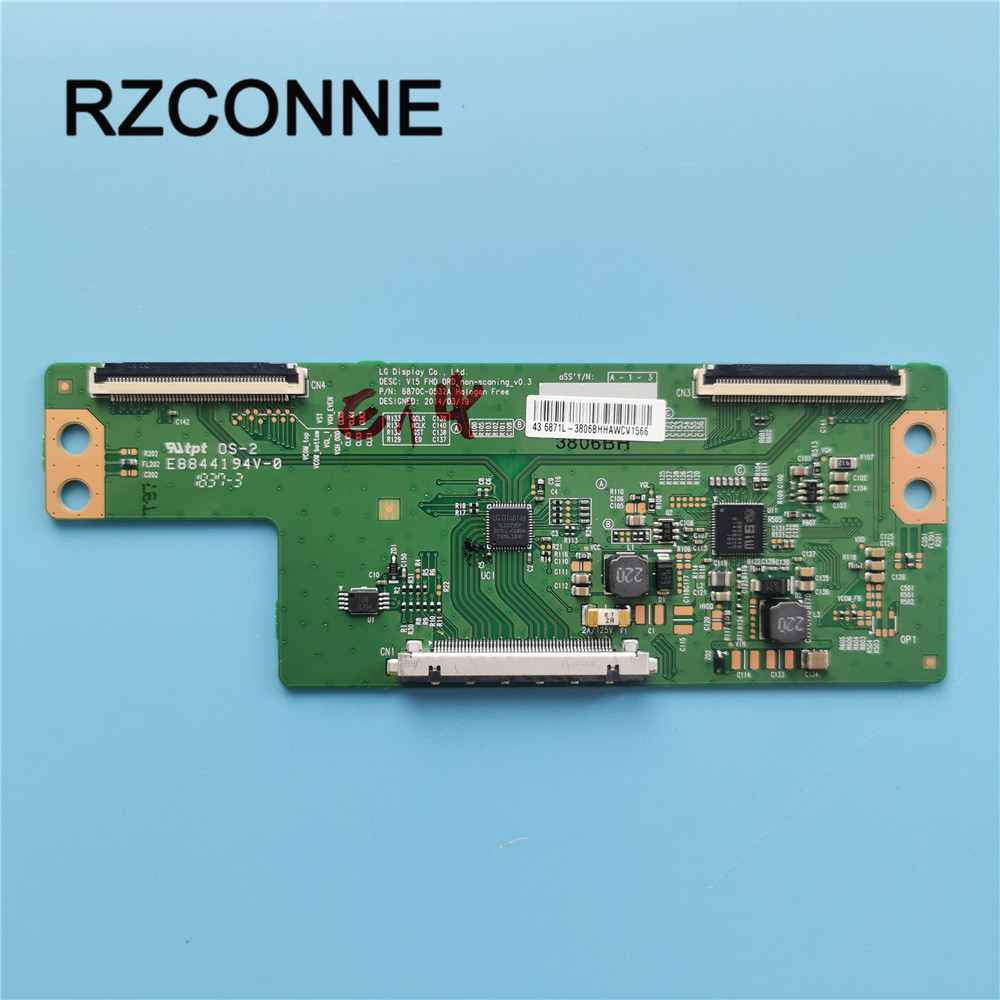 T-con Board For LG 43/49/55inch V15 FHD DRD 6870C-0532A 0532B 0532C