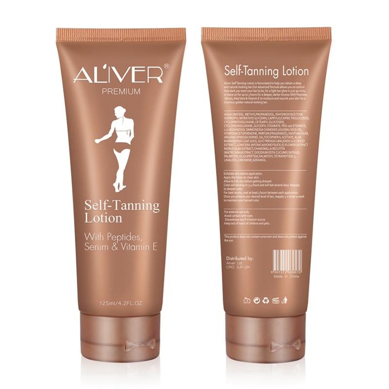 Self Sun Tan Tanning Suntan Cream Color Stay Bronze Enhance Day Tanning Cream Natural Bronzer Sunscreen Tanner Lotion 3