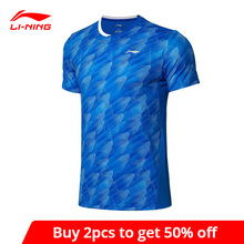 T-Shirts Badminton Lining Dry-Basic Sports Men Tees Competition AT Spandex AAYP063 88%Polyester