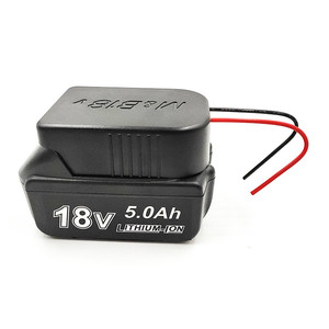 Image 2 - Li Ion Battery Converter to DIY Cable Output Connection Adapter for Makita 18V For Bosch 18V Lithium Battery Adapter Accessories