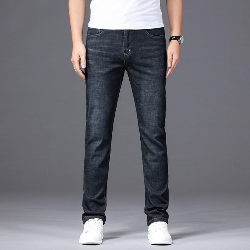 Spring And Autumn Men'S Wear Plus-sized Cowboy Trousers Korean Series Convention Hip Hop Lard-bucket Stylish Loose Wear Versatil