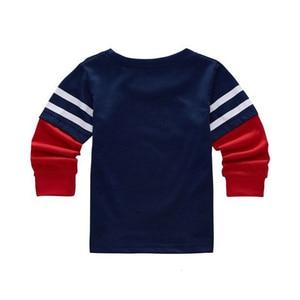 Image 2 - Batman Superman karikatür çocuklar uzun kollu erkek T Shirt pamuklu üst giyim Slim Fit Tee Ropa Bebe Tshirt sonbahar Camiseta çocuk giysileri