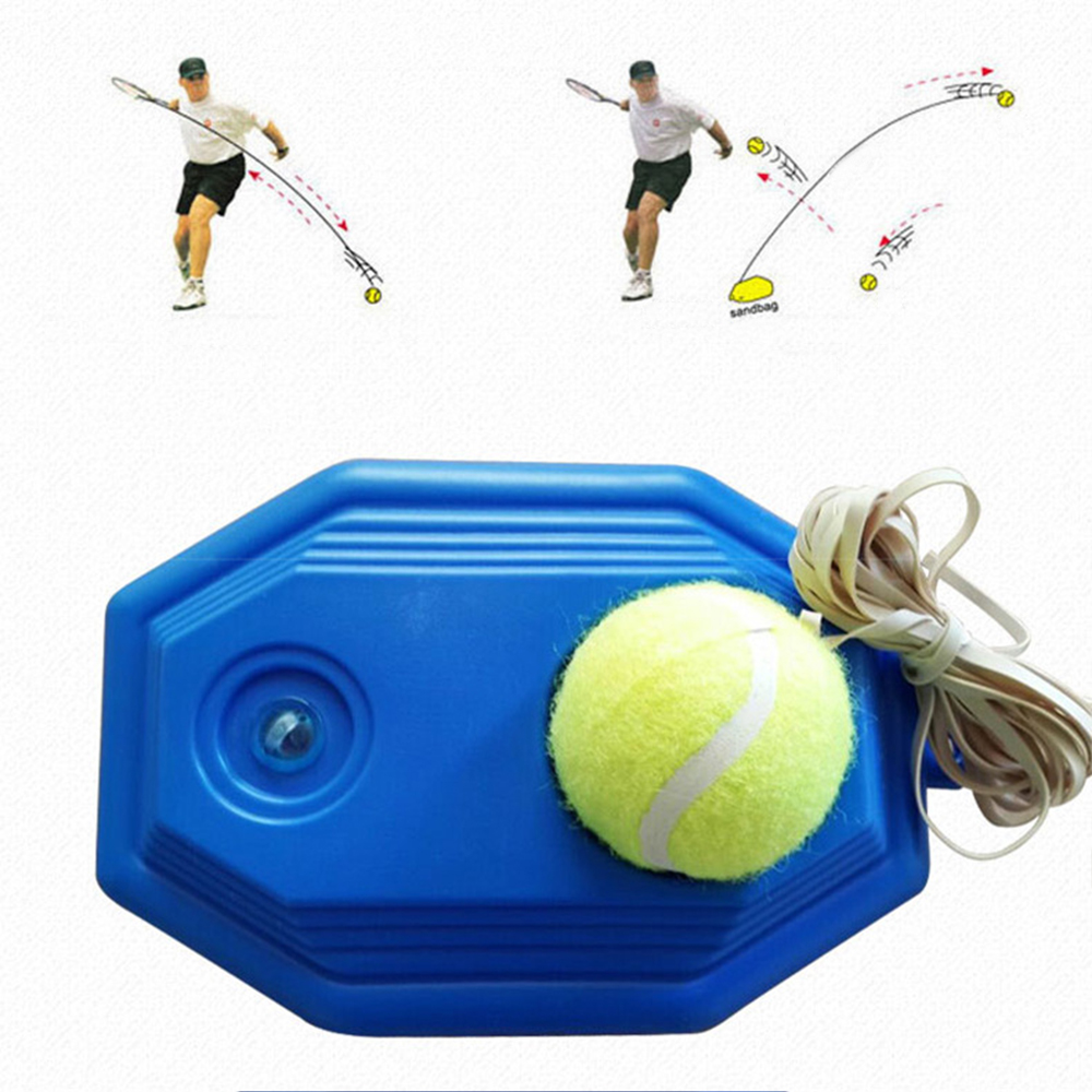 Innovative Tennis Trainer Ball High Resilience Durable Tennis Tennisball Practice Ball For School Club Competition Exercises