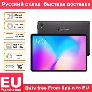 "Image 1 - Tablet telefoniczny Teclast T30 4G android 9.0 10.1 ""1920x1200 MTK P70 4GB RAM 64GB ROM tablety PC podwójny aparat GPS type c 8000mAh"