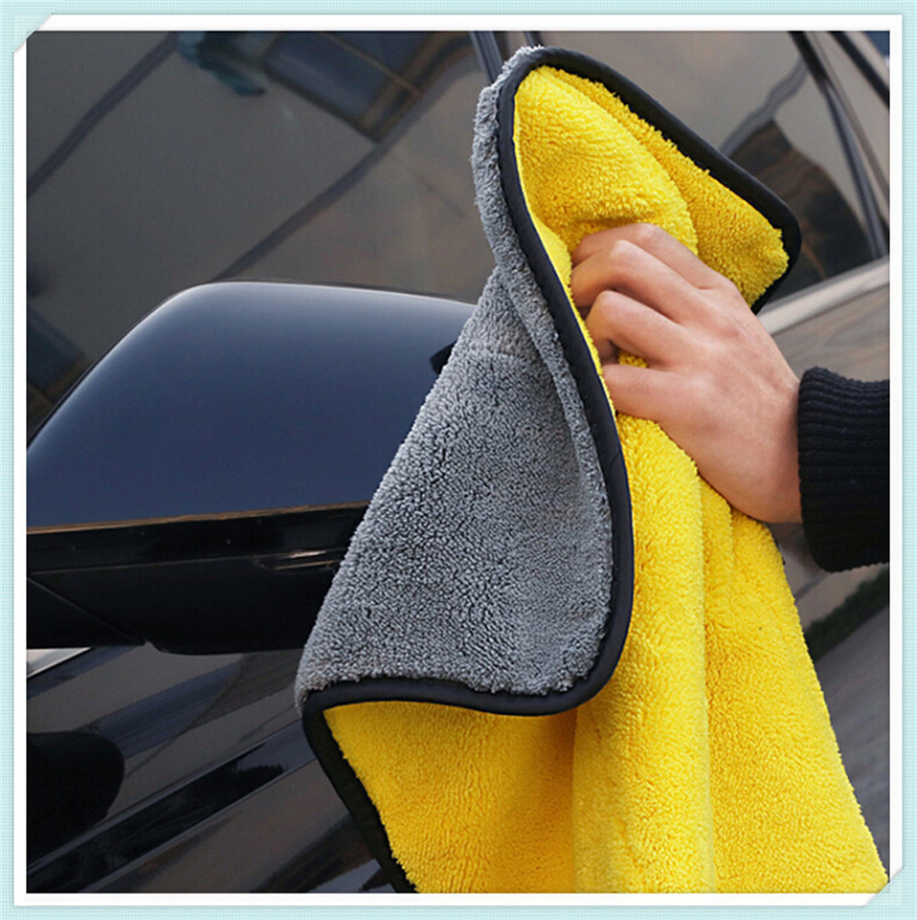 1Pcs 30X30cm High Quality car cleaning towel for nissan qashqai bmw x1 ford focus 3 golf mk4 subaru wrx jetta mk6 passat b5