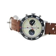 AD30 Sapphire Red Star Mechanical Chronograph Automatic Mens Pilot Watc