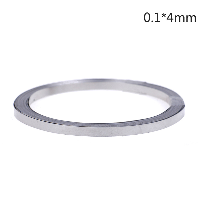 1pc 10m Pure Ni Plate Nickel Strip Tape For Li 18650 Battery Spot Welding