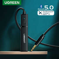 Ugreen Bluetooth Transmitter 5.0 TV Headphone PC PS4 aptX LL 3.5mm Aux SPDIF 3.5 Jack Optical Audio Music Bluetooth 5.0 Adapter