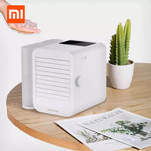 XIAOMI Microhoo 3 Em 1 Mini Condicionador de Ar Ventilador De Refrigeração De Água Tela de Toque Cronometragem Artic Umidificador Refrigerador Para O Verão