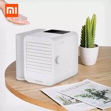Xiaomi Microhoo 3 en 1 Mini aire acondicionado ventilador de refrigeración por agua pantalla táctil de distribución de humidificador para el verano