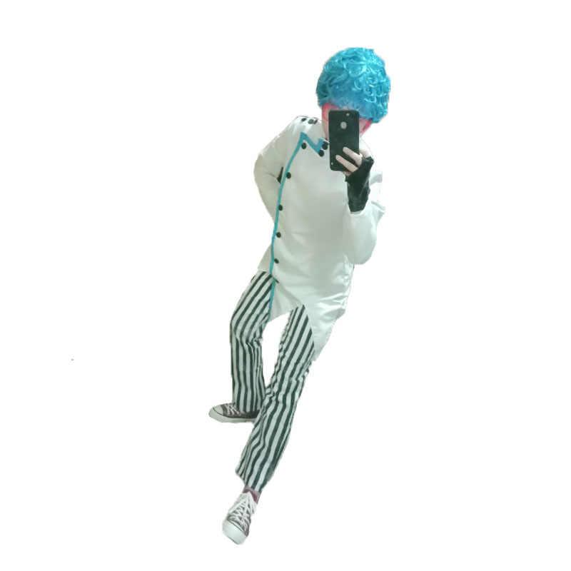Details about  /JoJo/'s Bizarre Adventure Golden Wind Ghiaccio Uniforms Cospaly Cotume!sd