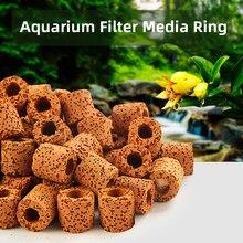 Filtr akwariowy mediów węgiel aktywny pierścienie ceramiczne wodne biochemiczne Bio piłka czyste wody filtr do wody z akwarium akcesorium