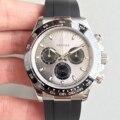 Reloj Rolexable de lujo de alta calidad dayTONA series M116519 zafiro negro correa de goma AAA Máquina automática hombres relojes.