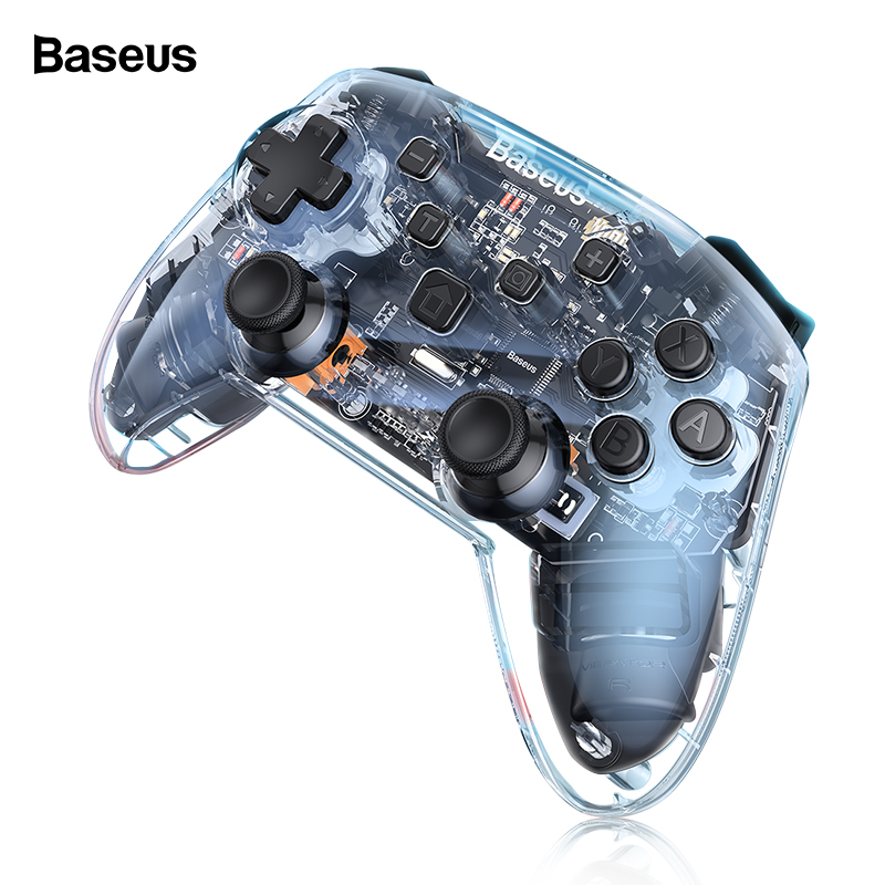 Baseus Wireless Bluetooth Gamepad For Nintendo Switch Game Console Joystick Joypad Controller For Nintend Switch Lite Pro Wii PC