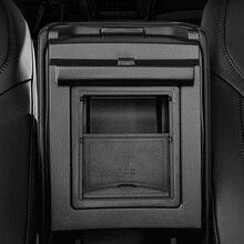 Voor Tesla Model 3 Y 2016 2021 Middenconsole Organizer, Armsteun Verborgen Opbergdoos Auto Accessoires Houder Doos
