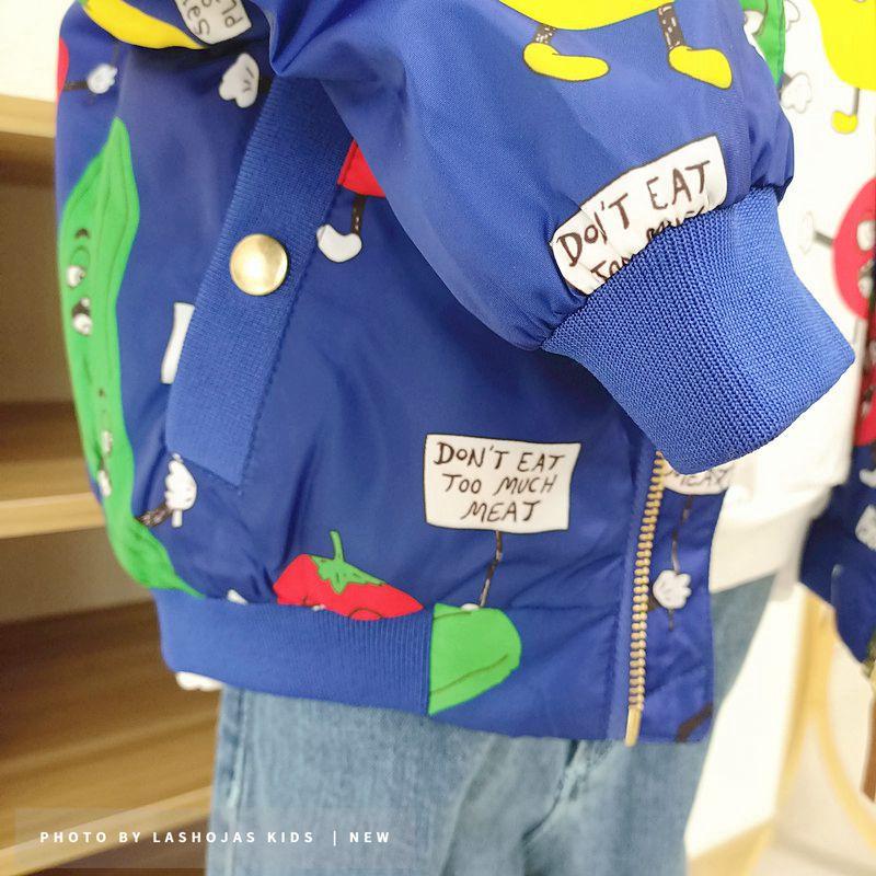 Winter Baby Girls Boys Vegetables Printed long Jacket Kids Keep Warm Thick  Fruits Parkas Coats Children Girls Outerwear Boys Cl 4