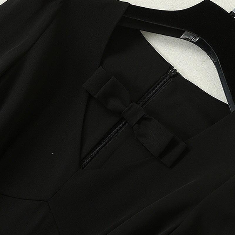 DIDACHARM ネックヴィンテージエレガントシックな黒ドレス BTC 今週の割引