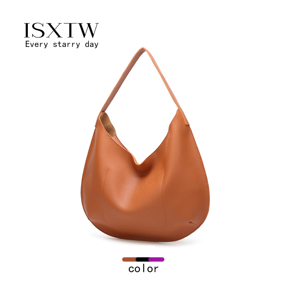 ISXTW New Arrivals 2018 Women Handbag Washed Vegan Leather Shoulder Messenger Bag Casual Pockets Crossbody Bolsa Feminina/B6
