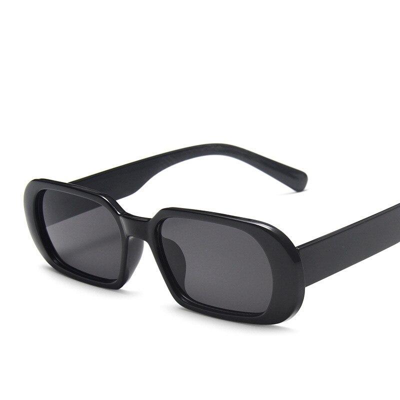 ZXWLYXGX Square Lady Sunglasses Luxury Brand Travel Small Rectangle Sun Glasses Men and Women Eyeglasses Vintage Retro