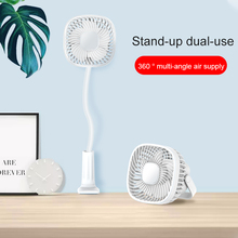 Office desktop mini ventilador de refrigeración USB ventilador Micro USB 2,0 gadgets De verano flexibles juegos de dormitorio de estudiantes, adecuado para tableta móvil