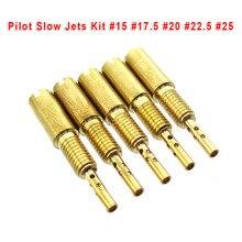 Запасные части для карбюратора Pilot Slow Jets для детской модели/детской модели гоночного вездехода #15 #17,5 #20 #22,5 #25