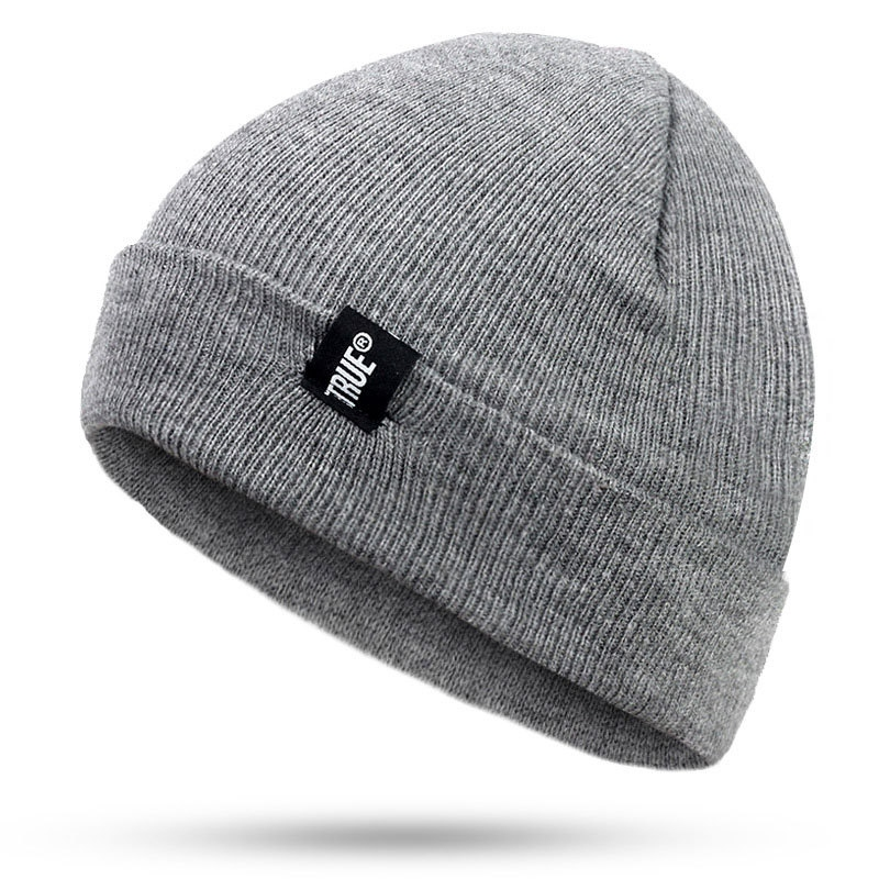 NewWomen Men Knitted Warm Winter Hats Wool Baggy Slouchy Beanie Hat For Snowboard Skiing Skating