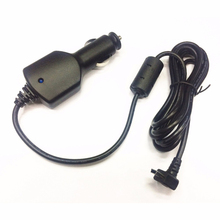 5V 2A mini 5pin GARMIN nuvi 40 50 1450 1490 GPS araç araba şarjı güç kablosu adaptörü