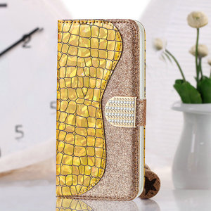 Image 3 - Bling Sequins Leather 360 Protect for Samsung Galaxy A52 5G 2021 Luxury Case Samsung A 52 Flip Cover Card Slot Wallet Shell Etui