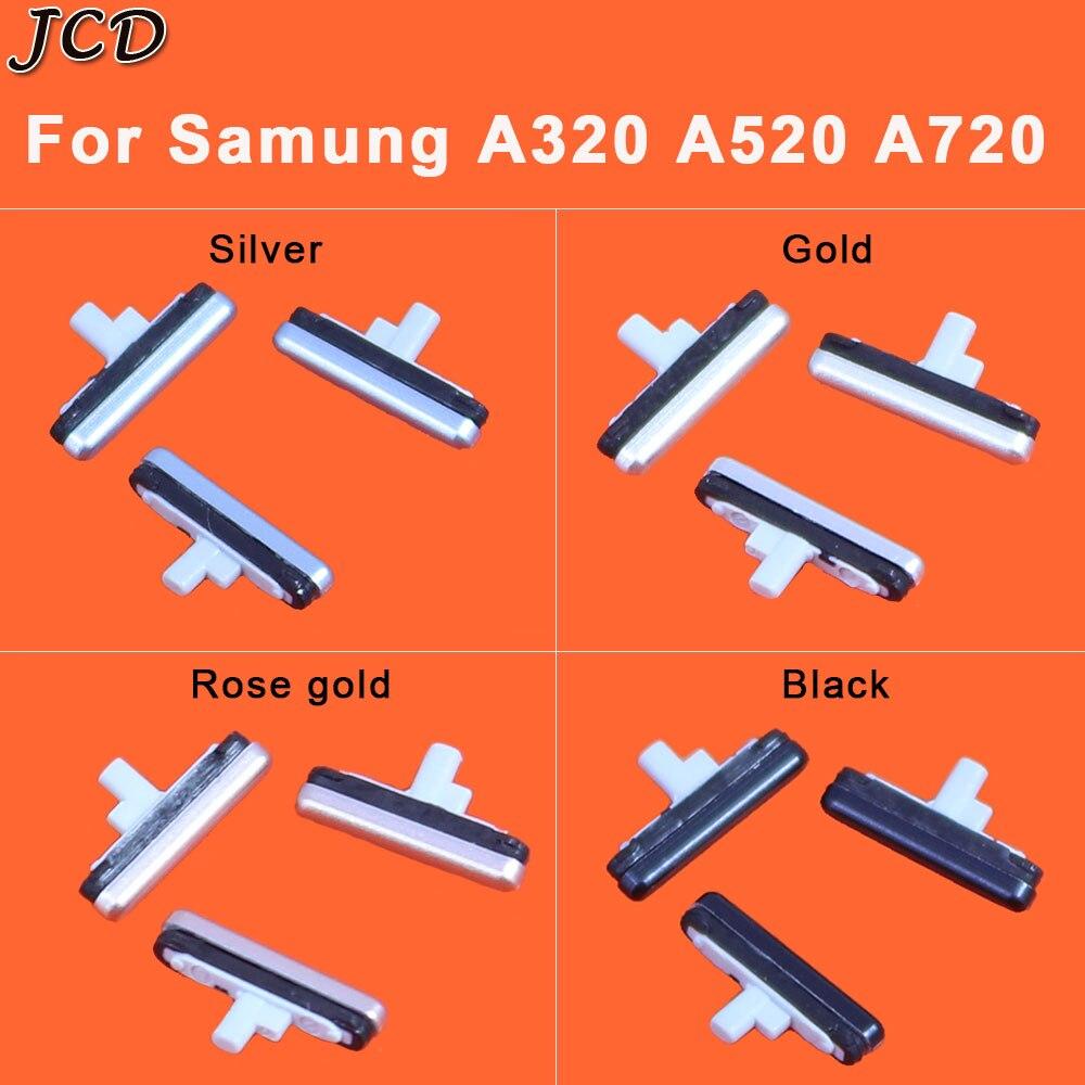 JCD For Samsung Galaxy A3 A5 A7 2017 A320 A520 A720 Phone Housing Frame Volume Power Button Side Key