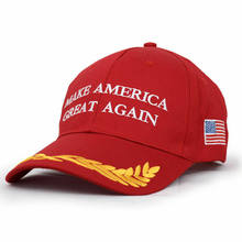 Nuovo modo di Fare Grande di Nuovo Cappello Donald Trump Repubblicano Regolabile Red Cap Repubblicano Berretto Da Baseball per il Presidente Cappello di Partito(China)