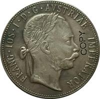 النمسا-Habsburg 1875 النقود نسخة
