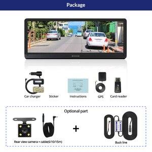 Image 5 - E ACE E14 Car DVRs 4G Android 8.0 Inch Dash Cam 1080P Video Recorder GPS Navigation ADAS Dashcam With Rear View Camera Auto Dvr