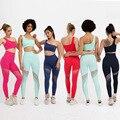 Nahtlose Yoga Sets sommer Workout kleidung für Frauen Eine Schulter Sport Bhs + Leggings 2 Pcs Gym Kleidung Fitness Sportswear