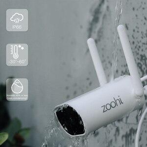 Zoohi Drahtlose Mini NVR 3MP Wifi Kamera Set Überwachung Video System Sound Rekord Hause Im Freien Sicherheit Kamera System