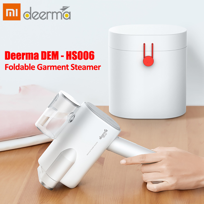 Xiaomi Deerma DEM - SH011 Foldable Garment Steamer 800W Handheld Clothes Wrinkle Remover Sterilization Steam Iron Machine