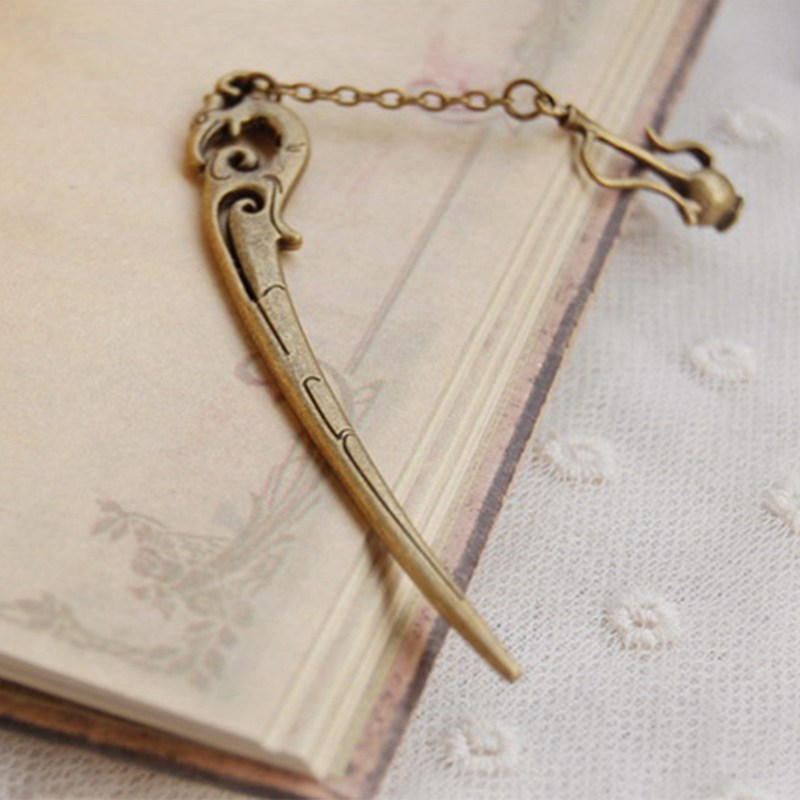 2018 New Fashion Vintage Alloy Bookmark Classical Teapot Pendant Bookmark Stationery Books Accessories Creative Gifts